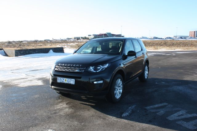 Iceland 4x4 Rental Land Rover Discovery Sport 4x4 Diesel