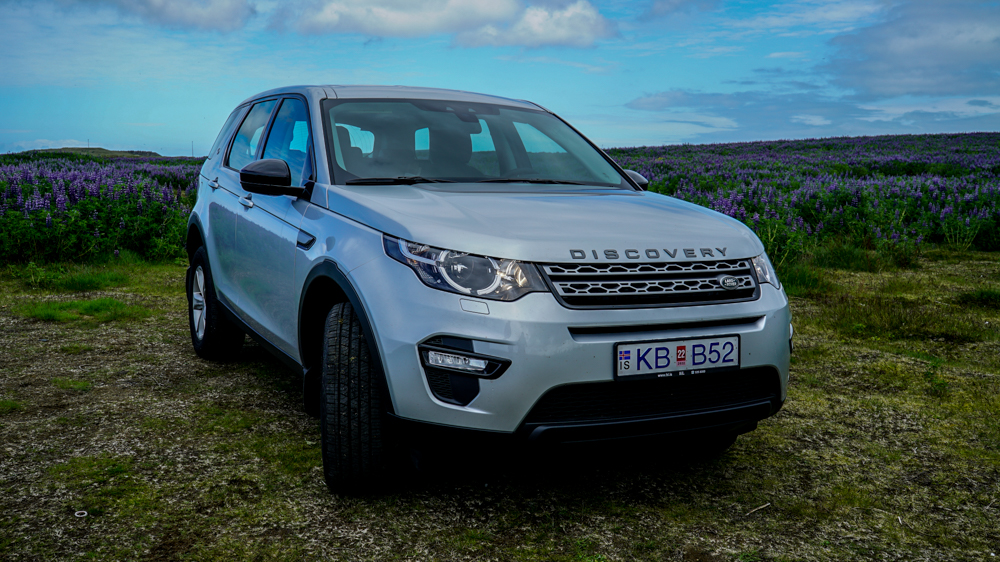 Range Rover Sport Dimensions >> Iceland 4x4 rental - Land Rover Discovery Sport 4x4 DIESEL