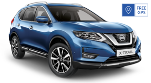 Nissan X-Trail 4x4 7 seats