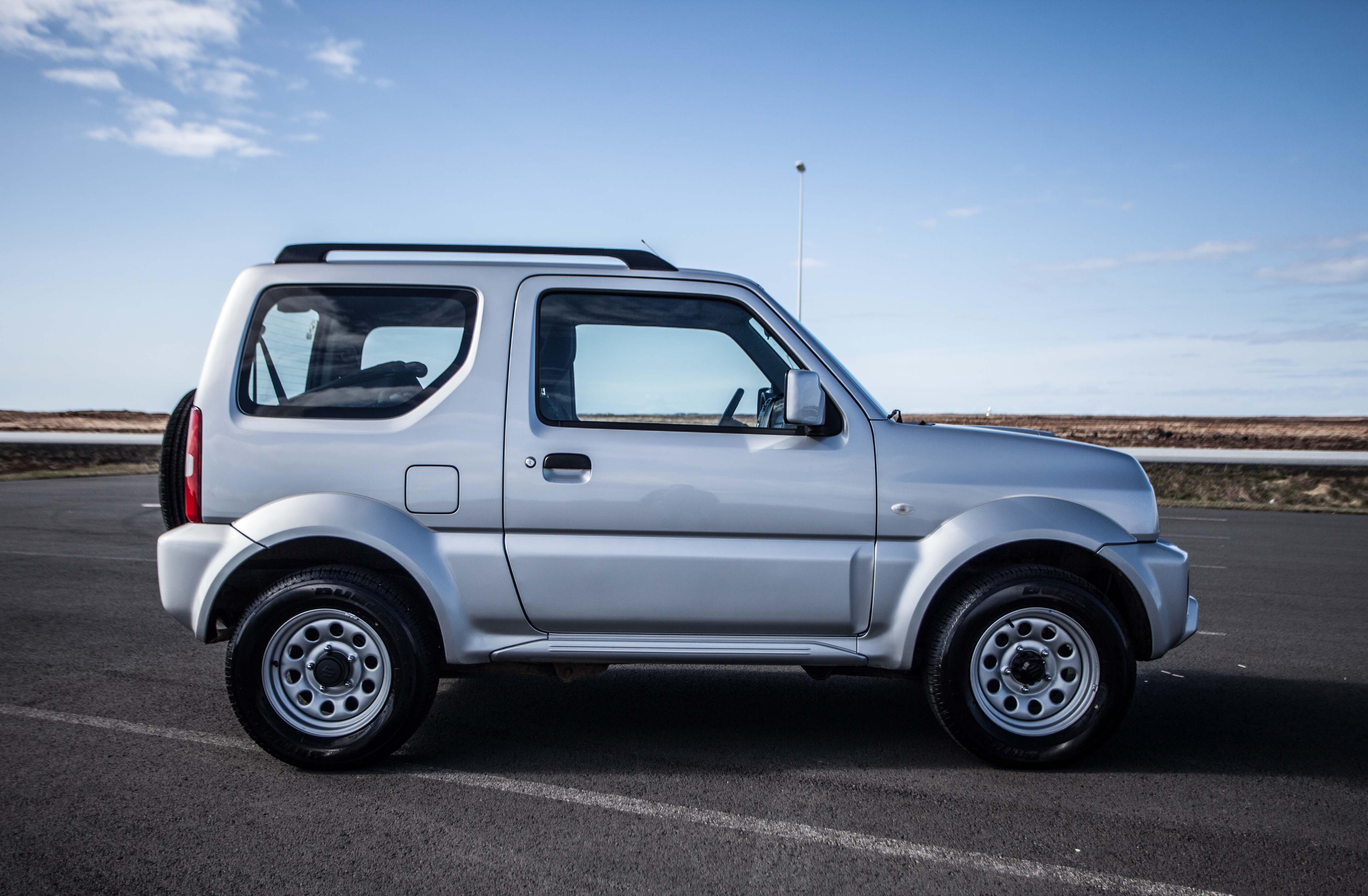 Rent a cheap 4x4 in Iceland - Suzuki Jimny