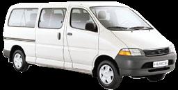 Toyota Hi-Ace or similar (older model)