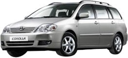 Toyota Corolla (hatchback or station)