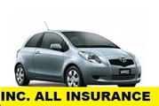 Toyota Yaris - Cheap car hire in Iceland