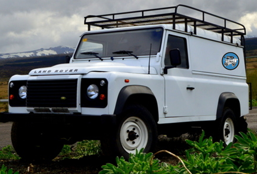 G - W/HEATER, MANUAL 4x4 Land Rover Defender 110 or similar - 2 Person - SEE DISCLAIMER ON WEBSITE