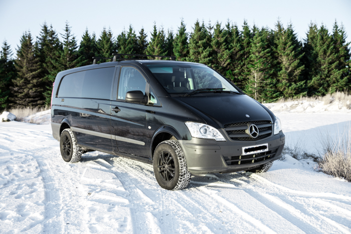 EA Campervan - W/HEATER, Automatic 4x4 Mercedes Vito or similar - Drives 3 / Sleeps 3