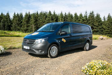 EA - W/HEATER, Automatic 4x4 Mercedes Vito or similar - Drives 3 / Sleeps 3