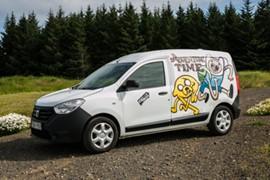 AB Campervan  - W/HEATER, MANUAL Dacia Dokker or similar - Drives: 2 / Sleeps 2