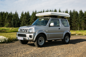 J - AUTOMATIC 4x4 Suzuki Jimny or similar - 2 pers in a roof tent