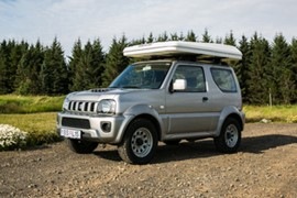j Camper - AUTOMATIC 4x4 Suzuki Jimny or similar - 2 pers in a roof tent