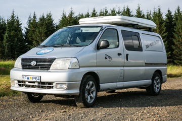 E - W/HEATER, MANUAL 4x4 Toyota Hiace or similar - Drives 5 / Sleeps 4