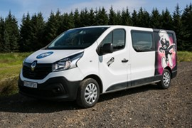 B Campervan - W/HEATER, MANUAL Renault Trafic low roof or similar - Drives 3 / Sleeps 3