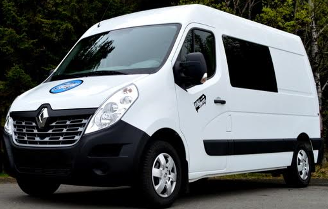 C - MANUAL Renault Master high roof or similar - 5 pers