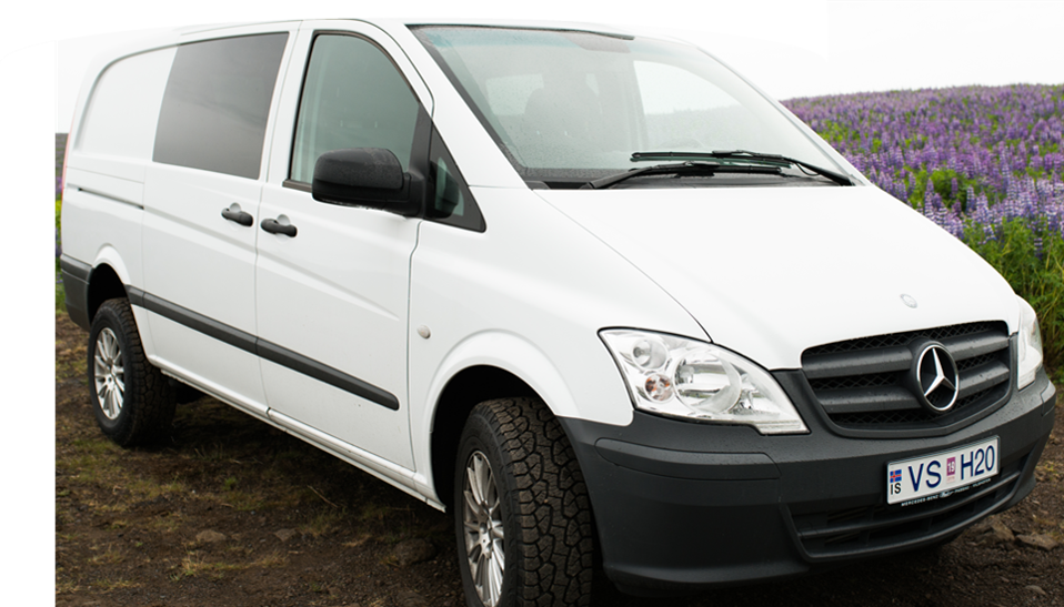 EA - Automatic 4x4 Mercedes Vito or similar - Drives 5 / Sleeps 3