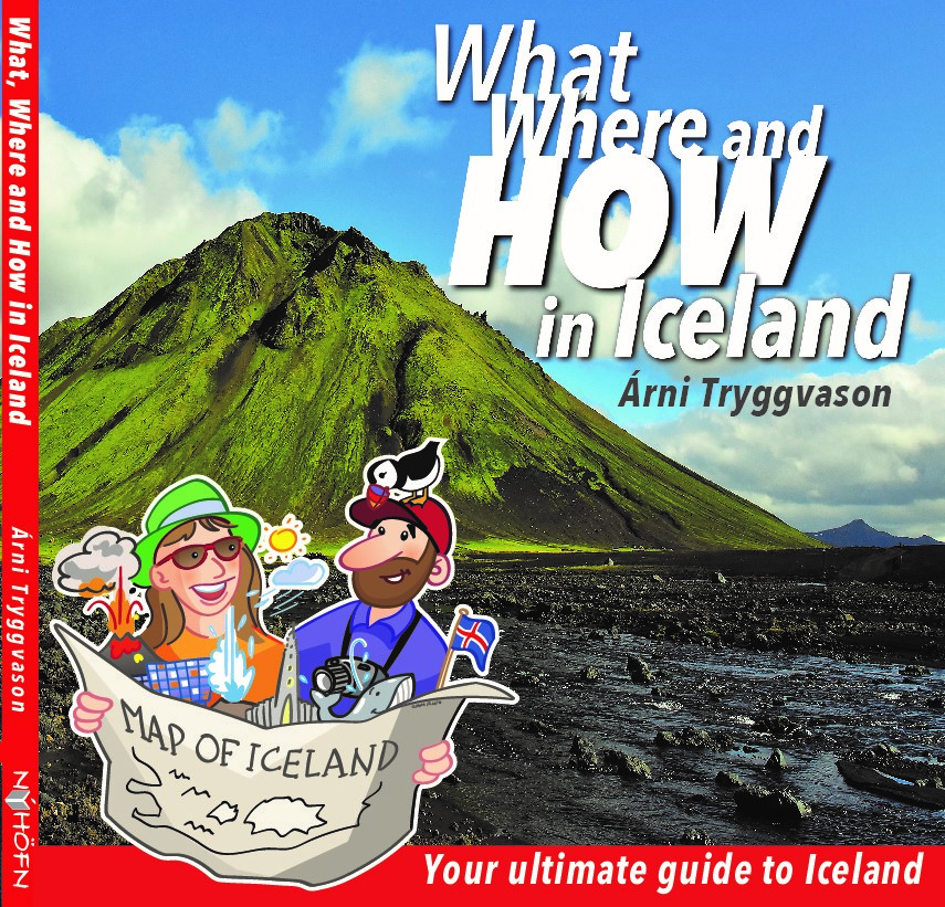 Your ultimate guide to Iceland book