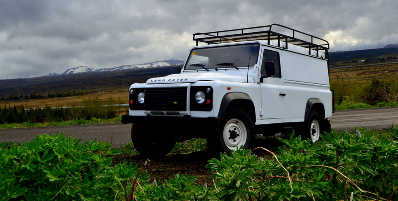 G - MANUAL 4x4 Land Rover Defender 110 - 2 pers