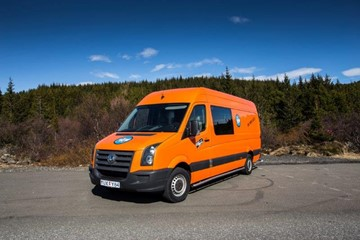 CA - AUTOMATIC Volkswagen Crafter - 5 pers