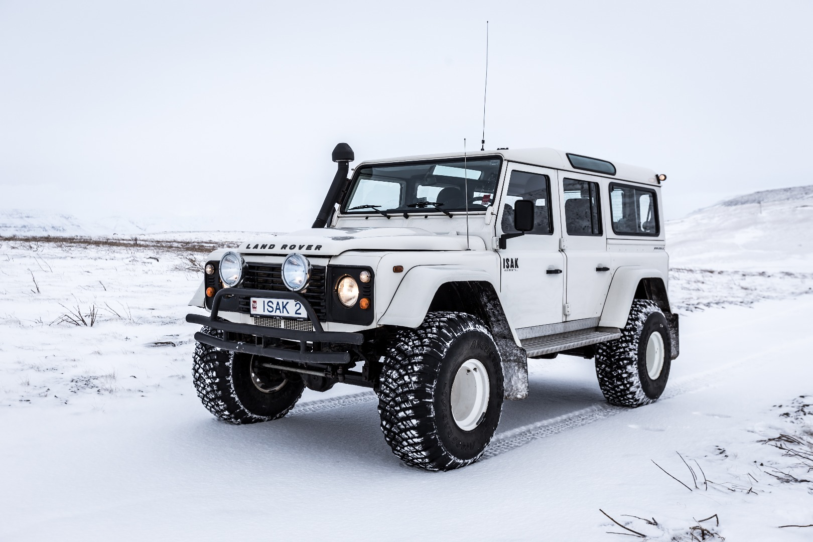 Choose Your 4x4 Truck For Iceland Isak 4x4 Rental