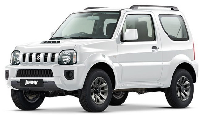 Suzuki Jimny 4x4 2 pers. (Manual)