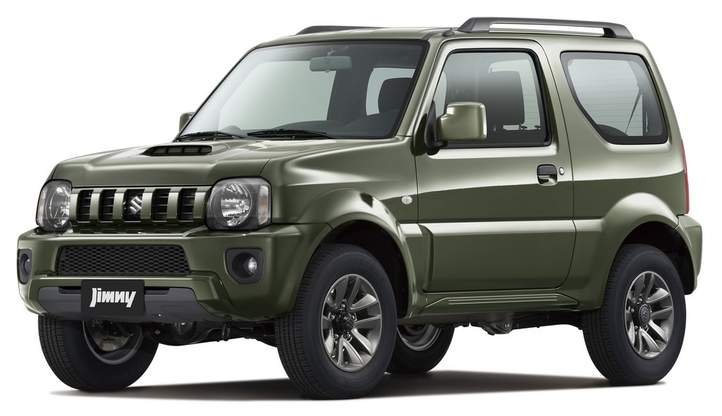 Suzuki Jimmy 4x4 Manual (older model) FREE GPS