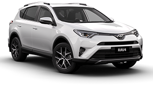 Toyota Rav 4 2016 or similar Free GPS