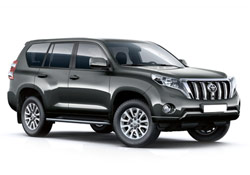 Toyota Land Cruiser 4x4 7-seater or similar
