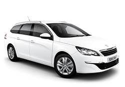 Peugeot 308SW station or similar