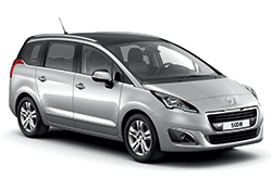 Peugeot 5008 or similar 7 seater