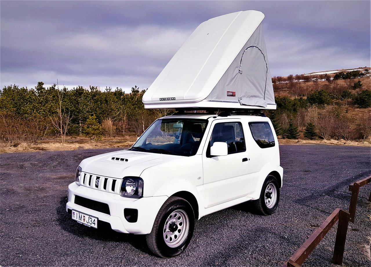 Optional items (extras) can be added in the booking process & Suzuki Jimny A/T Camper - Rooftent 4X4