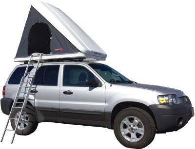 Ford Escape + Roof top tent