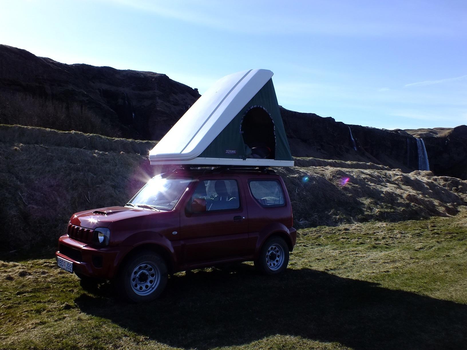 & 4WD Suzuki Jimny + roof top tent