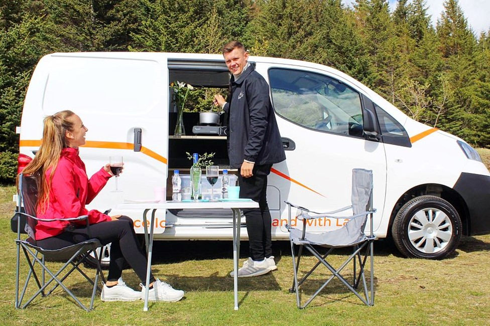 rent the nissan nv200 camper van