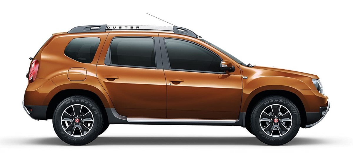 Rent the 2017 & 2018 Dacia Duster 4x4