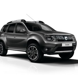 Black Dacia Duster Rental Car