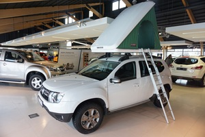 Dacia Duster 4x4 Camper (New model 2016/17)