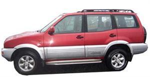 Nissan Terrano 2,4 Petrol 4x4 manual (2001 Model)