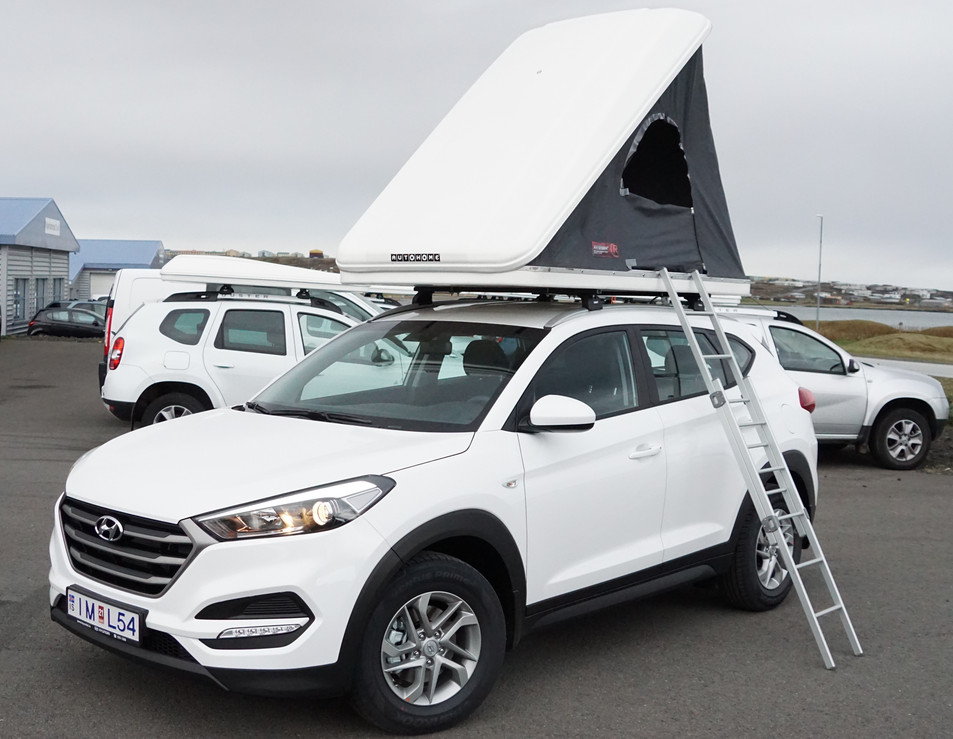 Hyundai Tucson 4x4 Camper (New model 2017)