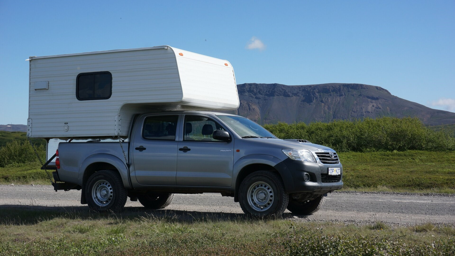 Toyota Hilux NEW model w/camper