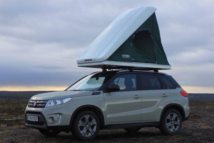 Suzuki Vitara w/Roof Tent 2017 model