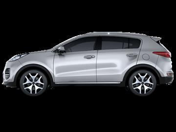 Kia Sportage 4x4 (automatic) - <u>FREE GPS</u>