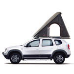 Dacia Duster 4x4 + Roof Top Tent for 2 persons persons