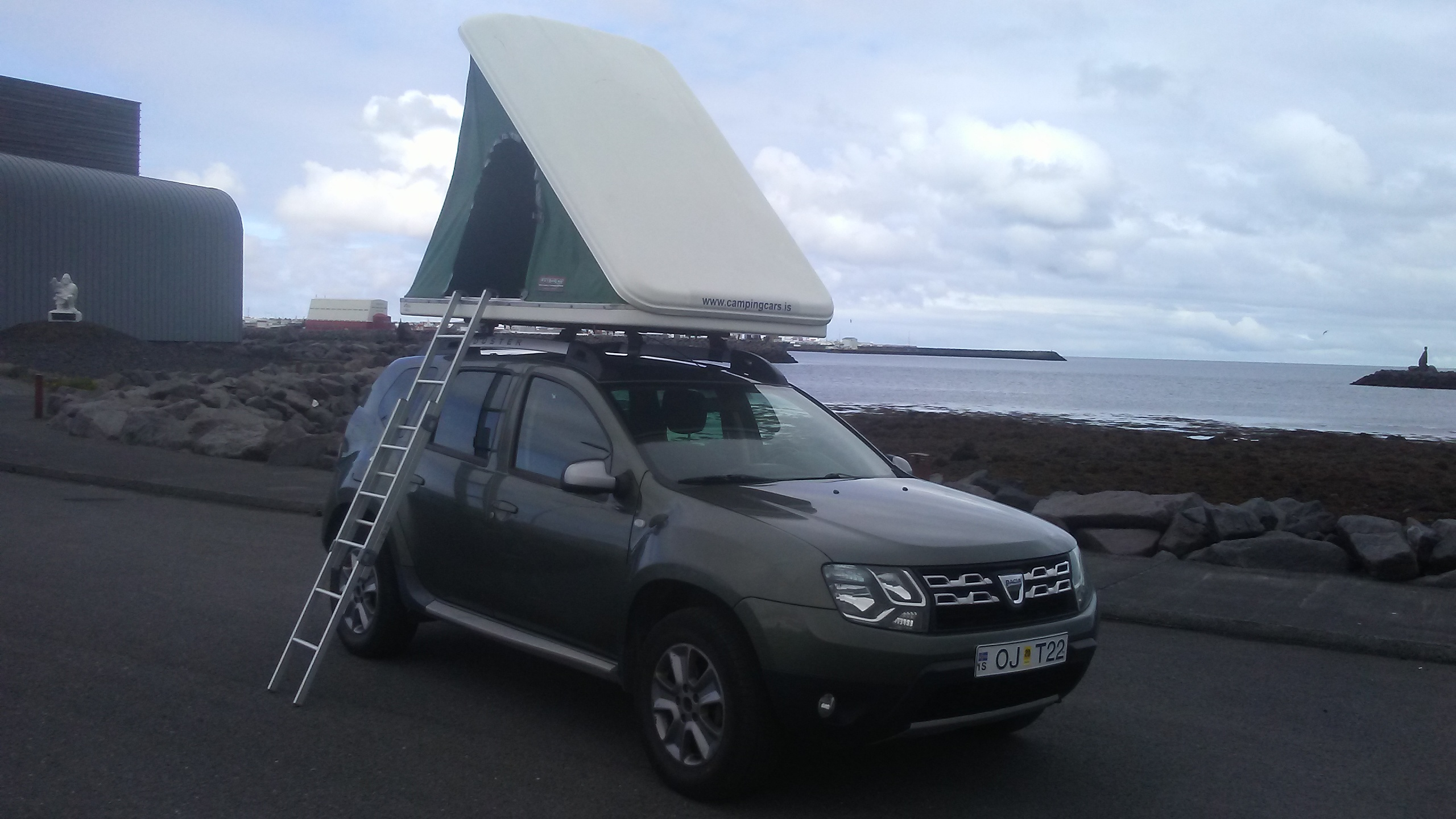 Rent A Dacia Duster 4x4 Roof Tent In Iceland