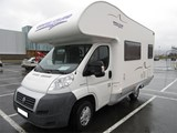 Fiat motorhome (5-6 persons)