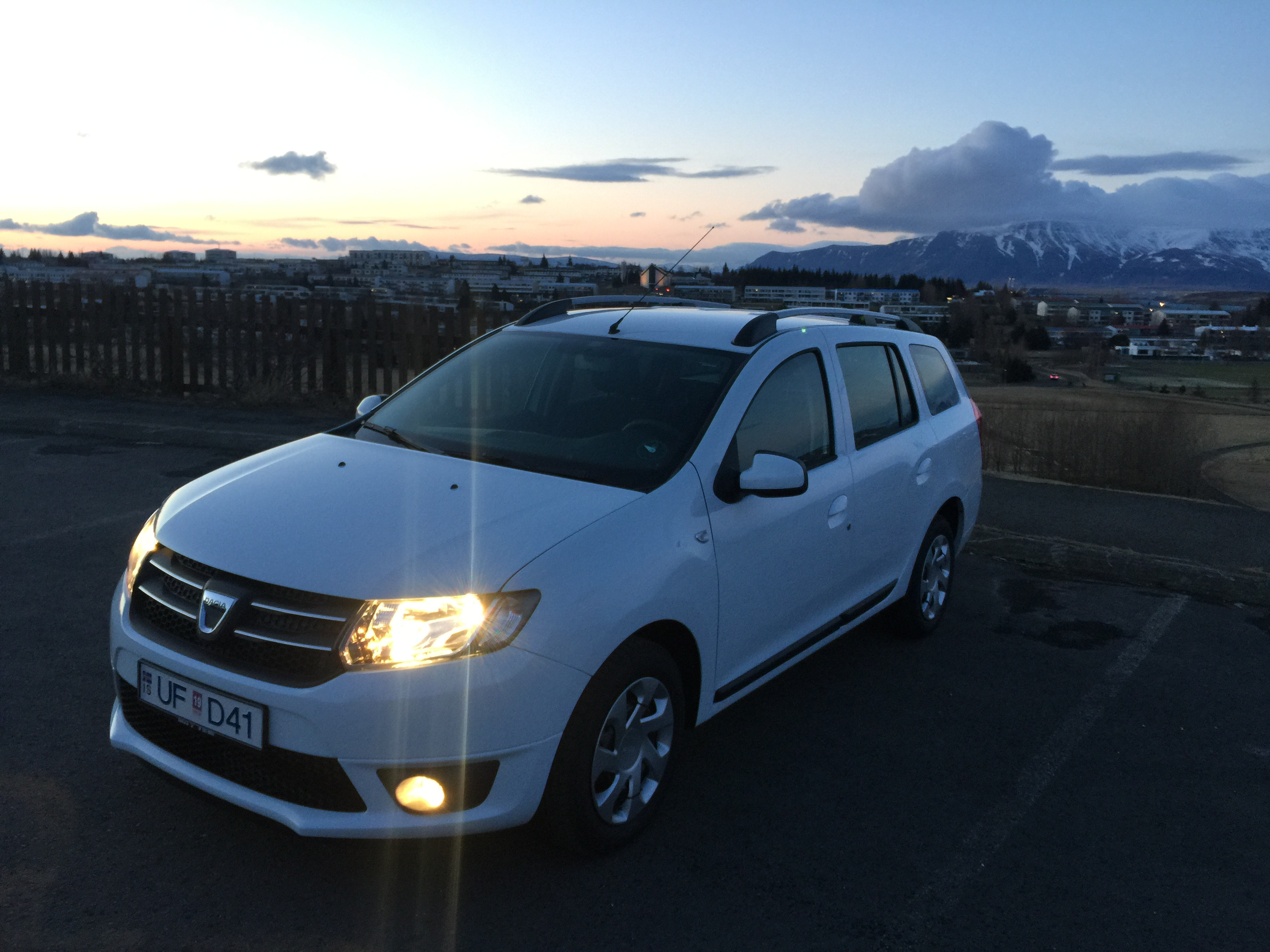 rent a dacia logan mcv car in iceland Mitsubishi Space Wagon 1986 Mitsubishi Space Star