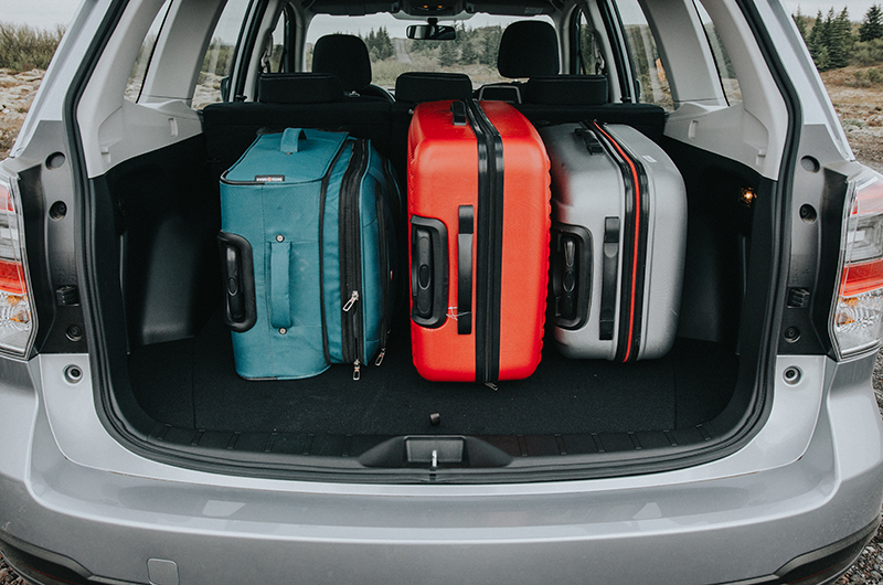Subaru Forester Cargo Space >> Rent a Subaru Forester 4x4 in iceland