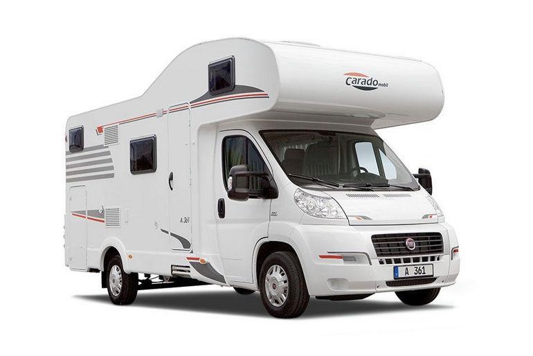 Fiat Carado A461 6 Person Motor Home