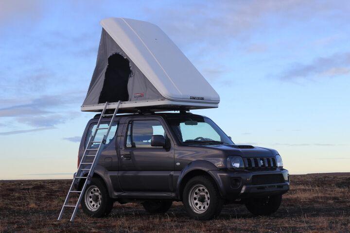 Suzuki Jimny (Manual) + Roof Tent - 2015 Model