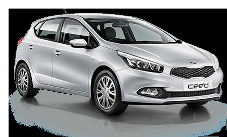 Kia Cee'd or similar - 2019 Model