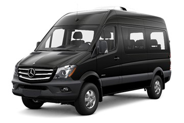 Mercedes-Benz Sprinter 4x4 | Auotmatic | 4-door | 15 people | Unlimited mileage