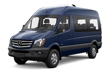 Mercedes-Benz Sprinter 4x4 | Automatic | 4-door | 9 people | Unlimited mileage