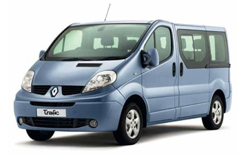 Renault Trafic or similar | Manual | 4 doors | 9 persons | Free mileage